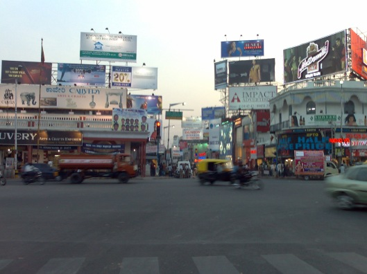 MG road and Brigada road Bangalore