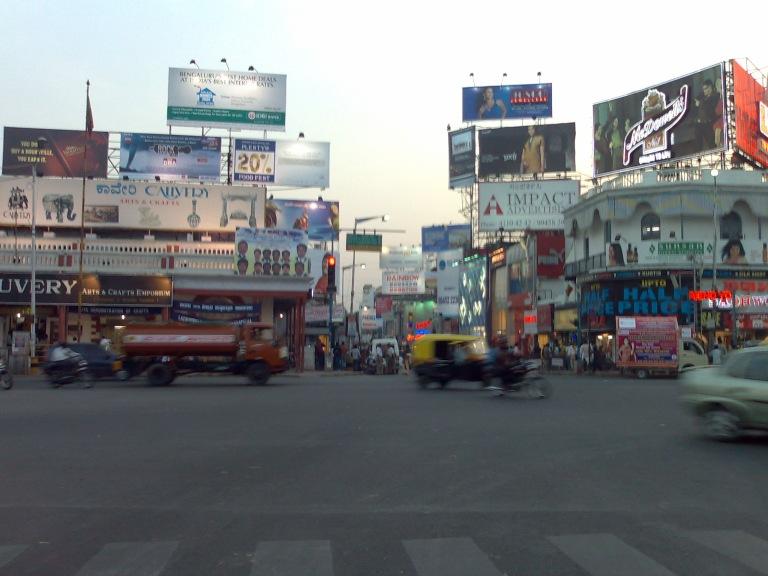 MG road and Brigada road Bangalore