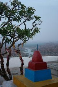 Monkey temple view