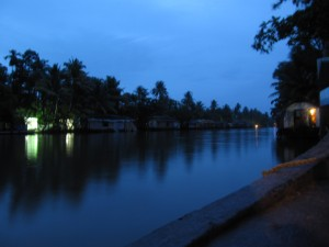 Backwaters by night