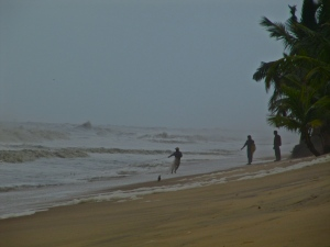 Fishermen on Marari Beach