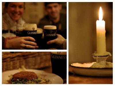 Guinness at Johnny Fox