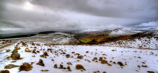 Sally Gap - Wicklow Mountains - Snow