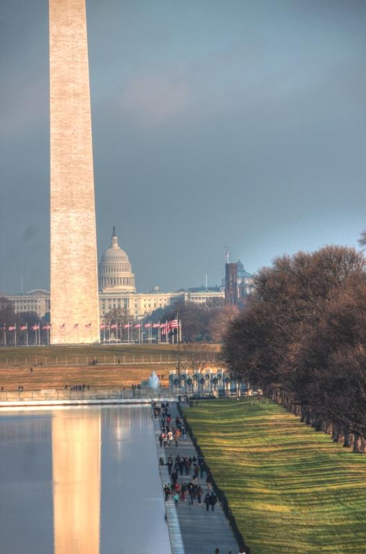 Washington reflection pool 2