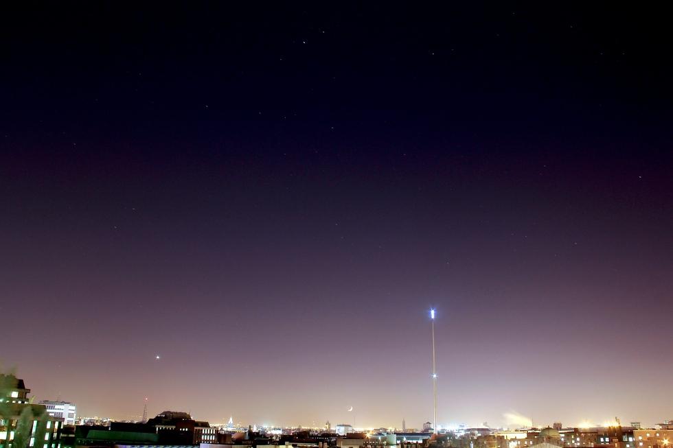 Dublin Spire and Stars